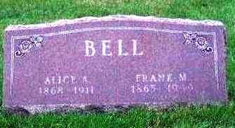 BELL, ALICE A - Madison County, Iowa | ALICE A BELL