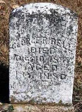 BELL, GEORGE R. - Madison County, Iowa   GEORGE R. BELL