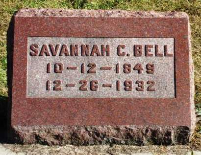 BELL, SAVANNAH C. - Madison County, Iowa | SAVANNAH C. BELL