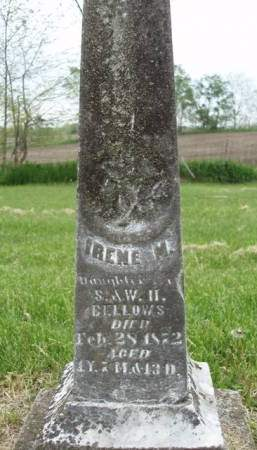 BELLOWS, IRENE M. - Madison County, Iowa | IRENE M. BELLOWS
