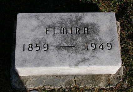 BENGE, ELMIRA - Madison County, Iowa | ELMIRA BENGE