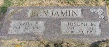 BENJAMIN, FREDA FERN - Madison County, Iowa | FREDA FERN BENJAMIN