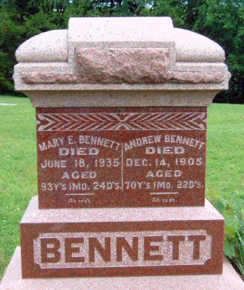 BENNETT, ANDREW - Madison County, Iowa | ANDREW BENNETT