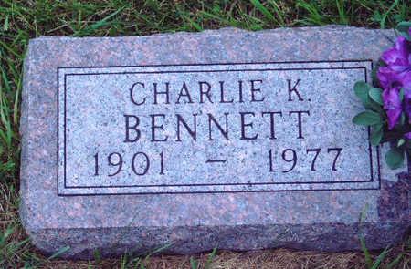 BENNETT, CHARLIE KYLE - Madison County, Iowa | CHARLIE KYLE BENNETT