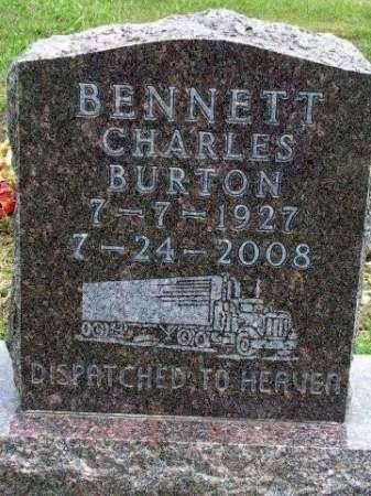 BENNETT, CHARLES BURTON - Madison County, Iowa | CHARLES BURTON BENNETT