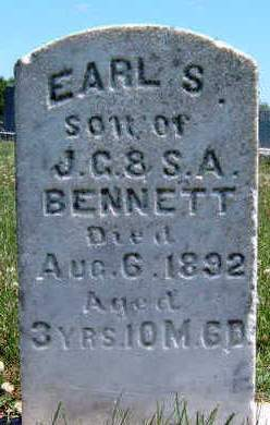 BENNETT, EARL S - Madison County, Iowa | EARL S BENNETT