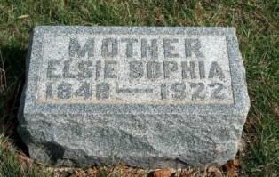 BENNETT, ELSIE SOPHIA - Madison County, Iowa | ELSIE SOPHIA BENNETT