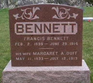 BENNETT, FRANCIS - Madison County, Iowa | FRANCIS BENNETT