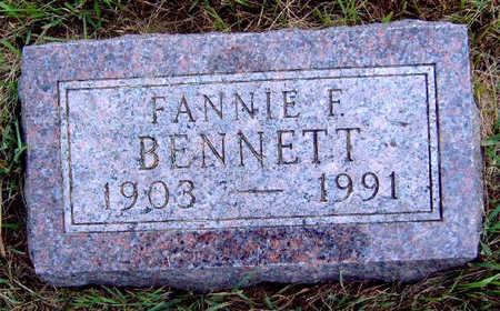 BENNETT, FANNIE FERN - Madison County, Iowa | FANNIE FERN BENNETT