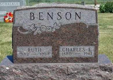 RAMSEY BENSON, RUTH - Madison County, Iowa | RUTH RAMSEY BENSON