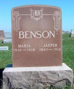 BENSON, MARIA - Madison County, Iowa   MARIA BENSON
