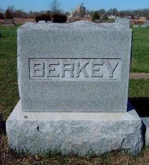 BERKEY, FAMILY STONE - Madison County, Iowa   FAMILY STONE BERKEY