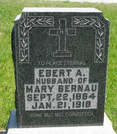 BERNAU, EBERT ALBERT - Madison County, Iowa | EBERT ALBERT BERNAU