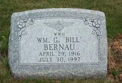 BERNAU, WILLIAM GEORGE - Madison County, Iowa | WILLIAM GEORGE BERNAU