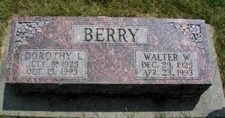 BERRY, DOROTHY L. - Madison County, Iowa | DOROTHY L. BERRY