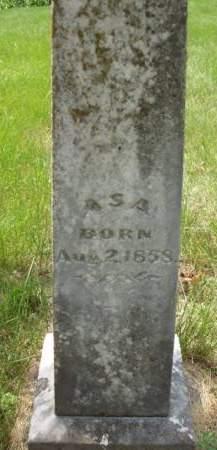 BERTHOLF, ASA B. - Madison County, Iowa   ASA B. BERTHOLF