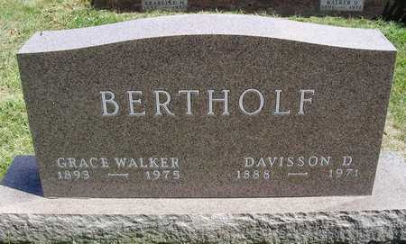 WALKER BERTHOLF, AUGUSTA GRACE - Madison County, Iowa | AUGUSTA GRACE WALKER BERTHOLF