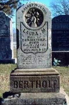 BERTHOLF, LAURA MYRTLE - Madison County, Iowa | LAURA MYRTLE BERTHOLF