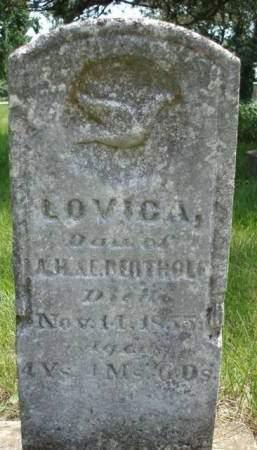 BERTHOLF, LOVICA - Madison County, Iowa | LOVICA BERTHOLF