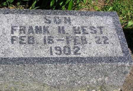 BEST, FRANK H. - Madison County, Iowa | FRANK H. BEST