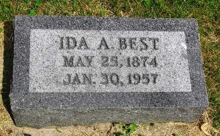 BEST, IDA ALMEDA - Madison County, Iowa   IDA ALMEDA BEST