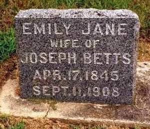 BETTS, EMILY JANE - Madison County, Iowa | EMILY JANE BETTS