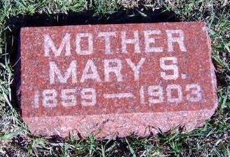 BETTS, MARY S. - Madison County, Iowa | MARY S. BETTS