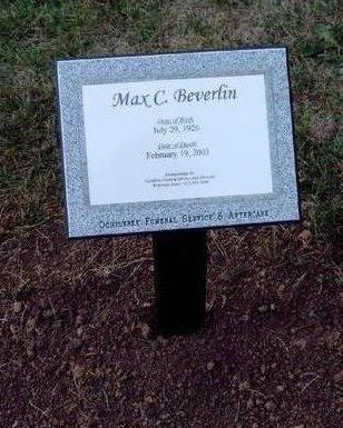BEVERLIN, MAX CORWIN - Madison County, Iowa | MAX CORWIN BEVERLIN