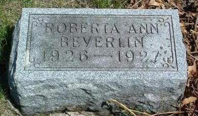 BEVERLIN, ROBERTA ANN - Madison County, Iowa | ROBERTA ANN BEVERLIN
