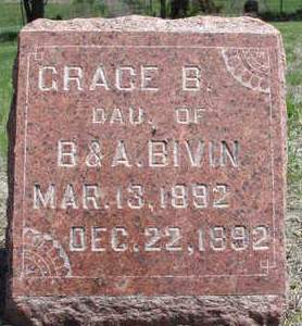 BIVIN, GRACE B. - Madison County, Iowa | GRACE B. BIVIN