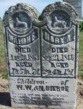 BIERGE, WILLIAM E. - Madison County, Iowa | WILLIAM E. BIERGE
