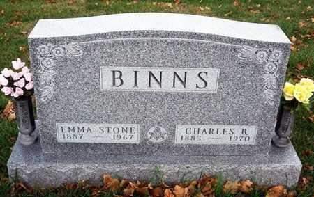 BINNS, CHARLES BENJAMIN - Madison County, Iowa | CHARLES BENJAMIN BINNS