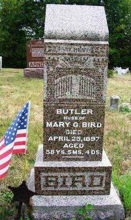 BIRD, BUTLER (REV.) - Madison County, Iowa   BUTLER (REV.) BIRD