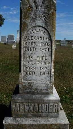 ALEXANDER, ELIJAH A. - Madison County, Iowa | ELIJAH A. ALEXANDER