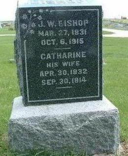 BISHOP, CATHARINE - Madison County, Iowa | CATHARINE BISHOP
