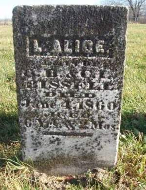 BISSELL, L. ALICE - Madison County, Iowa | L. ALICE BISSELL