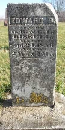 BISSELL, EDWARD B. - Madison County, Iowa | EDWARD B. BISSELL