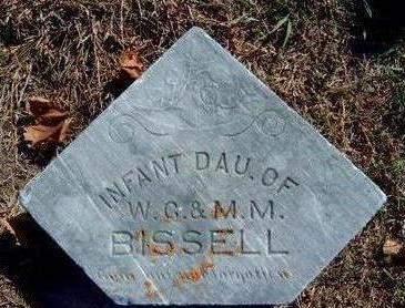 BISSELL, VERDIE (INFANT) - Madison County, Iowa   VERDIE (INFANT) BISSELL