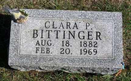 BITTINGER, CLARA PRUDENCE - Madison County, Iowa | CLARA PRUDENCE BITTINGER