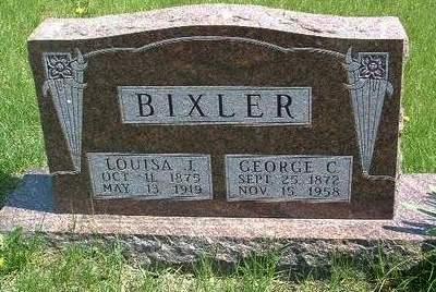 BIXLER, GEORGE C. - Madison County, Iowa | GEORGE C. BIXLER