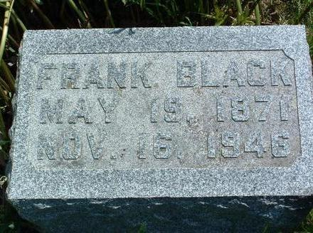 BLACK, FRANK B. - Madison County, Iowa | FRANK B. BLACK
