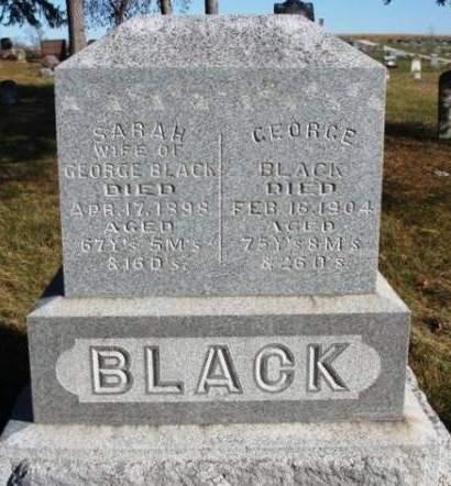 BLACK, GEORGE - Madison County, Iowa | GEORGE BLACK