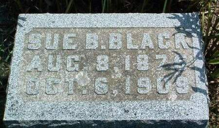 BLACK, SUE B. - Madison County, Iowa | SUE B. BLACK