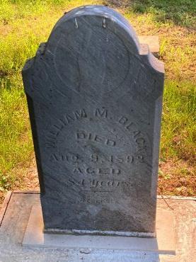 BLACK, WILLIAM M. - Madison County, Iowa   WILLIAM M. BLACK