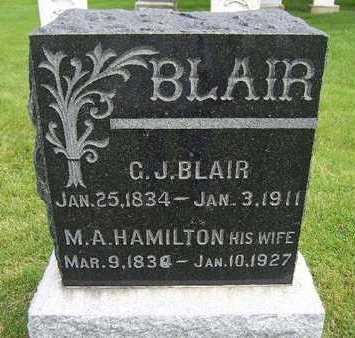 BLAIR, GEORGE JEFFERSON - Madison County, Iowa | GEORGE JEFFERSON BLAIR
