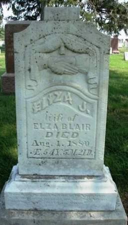 BLAIR, ELIZA JANE - Madison County, Iowa   ELIZA JANE BLAIR