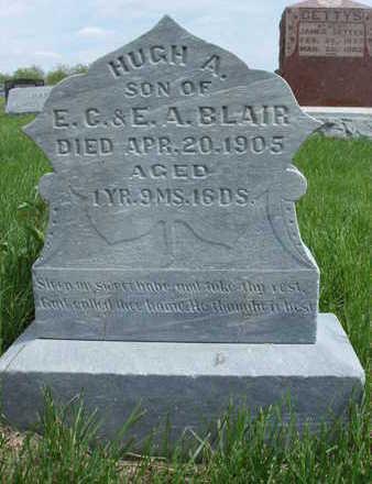 BLAIR, HUGH ALEXANDER - Madison County, Iowa   HUGH ALEXANDER BLAIR
