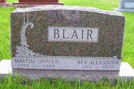 BLAIR, MARTHA - Madison County, Iowa   MARTHA BLAIR