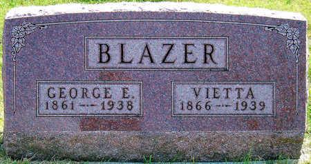 BLAZER, GEORGE E. - Madison County, Iowa | GEORGE E. BLAZER