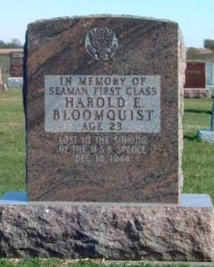 BLOOMQUIST, HAROLD EDWARD - Madison County, Iowa | HAROLD EDWARD BLOOMQUIST